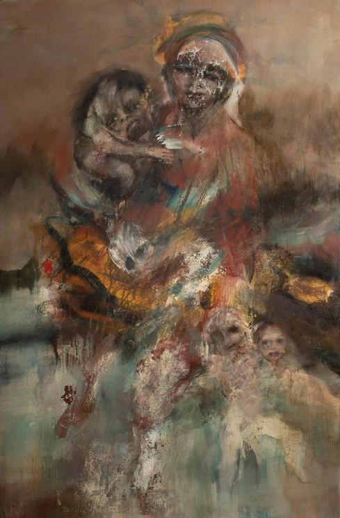 Vivre De Mort Mourir De Vie N 3 Par Anne Marie Cutolo 2016 Peinture Artsper 124747