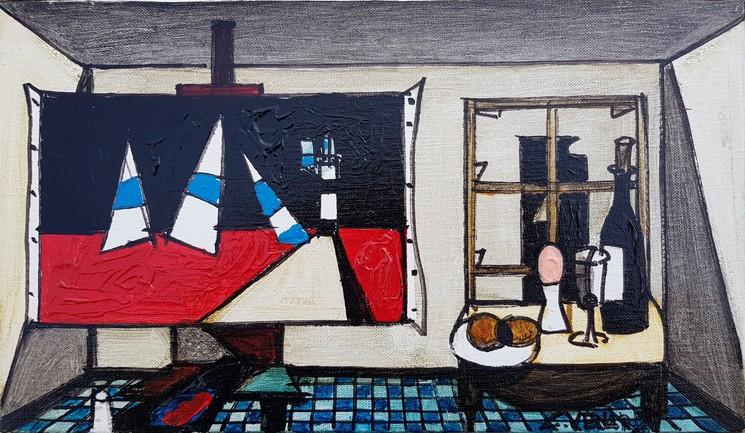 Le Tableau Serie Les Precieuses By Claude Venard 1968 Painting Artsper 475225