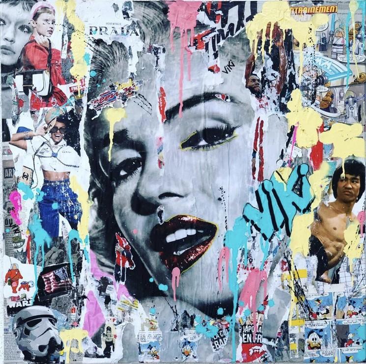 Marilyn Monroe By Art Kristin 2019 Painting Artsper 587874