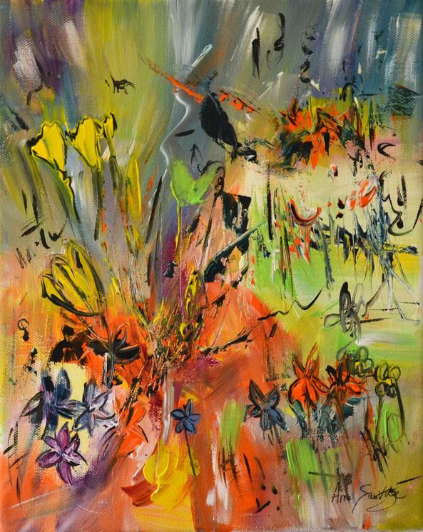 ▷ Le jardin exotique par Âme Sauvage, 2019 | Peinture | Artsper (612528)