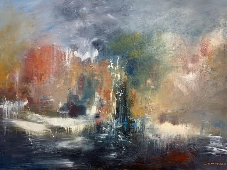 Orage Par Marianne Dencausse Robbe 2019 Peinture Artsper 649890
