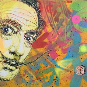 Salvador Dali By C215 2019 Painting Artsper 687303