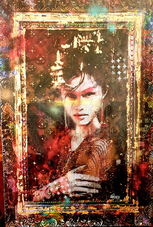 Baroque Par Anne Rosenblatt 2020 Peinture Artsper 692070