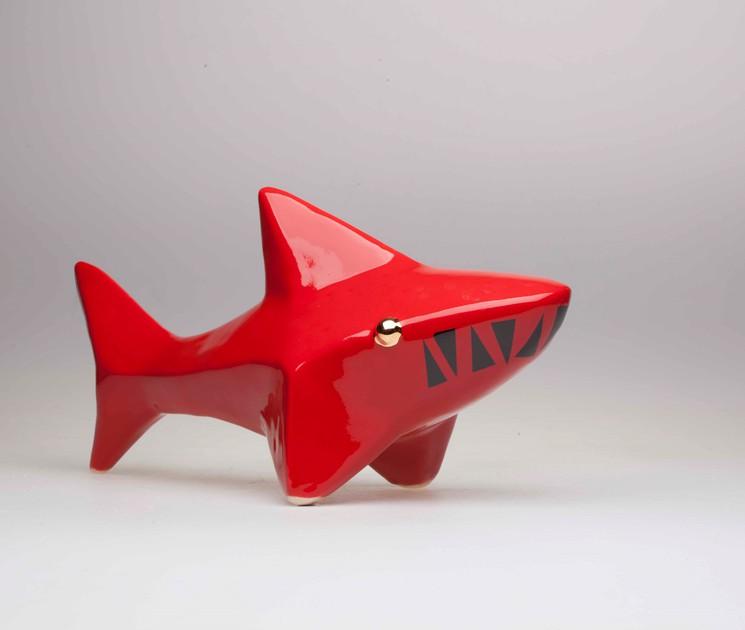 Shark peintes à la main regorge s100271 Safari Ltd weißspitzen hochseehai requin S1