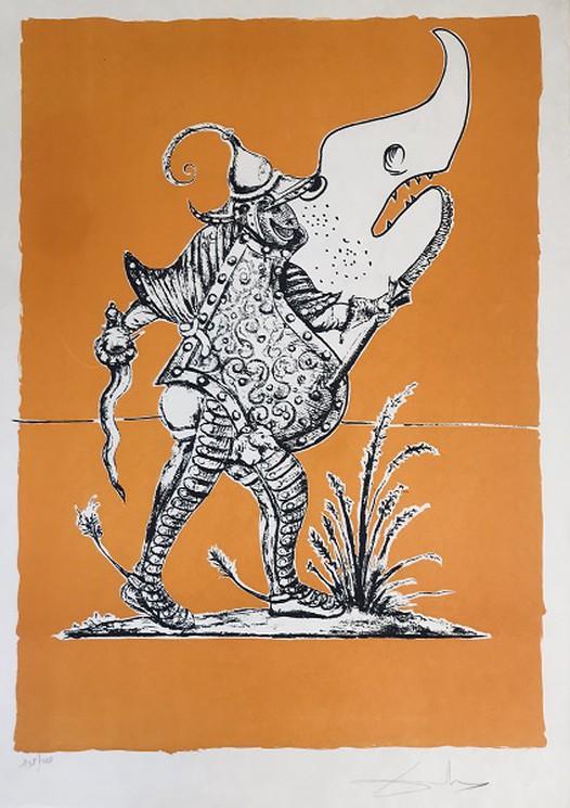Les Songes Drolatiques De Pantagruel X Requin Chinois By Salvador Dali 1973 Print Artsper 791028
