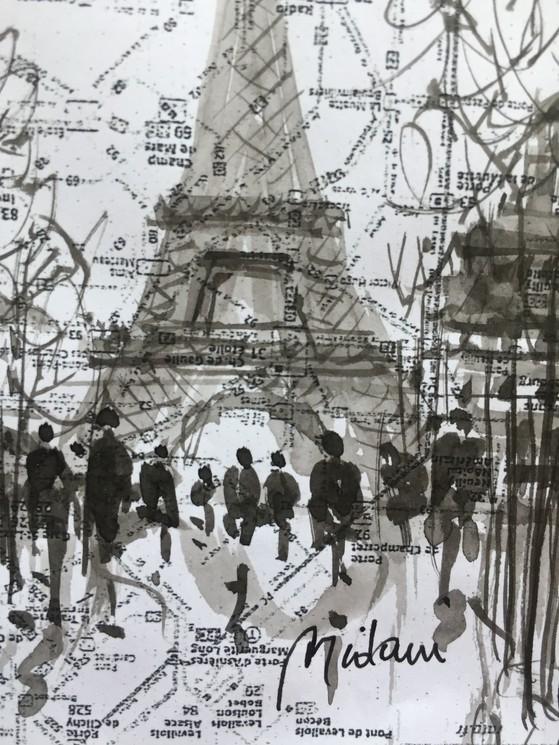 Paris Tour Eiffel 4 Par Midani M Barki 2020 Peinture Artsper 875373