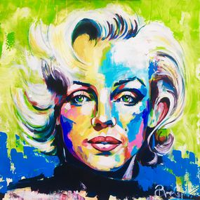Marilyn Monroe Par Bruno Giquel 2020 Peinture Artsper 902646