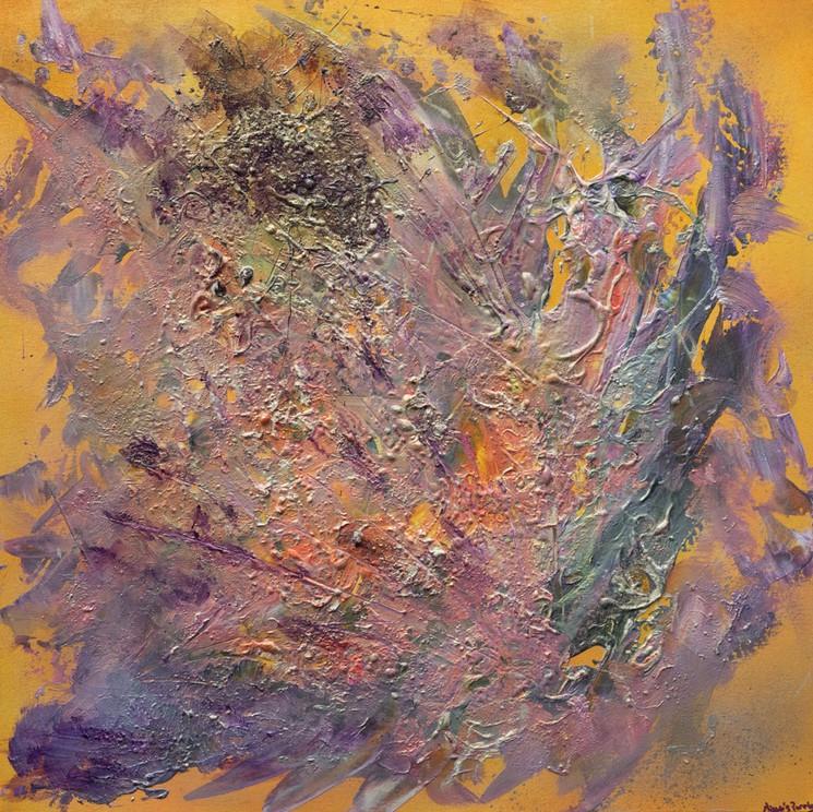 Samsara By Missie S Purple 2020 Painting Artsper 934803