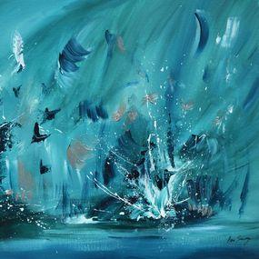 Paysage De Fond Marin Par Ame Sauvage 2020 Peinture Artsper 960186