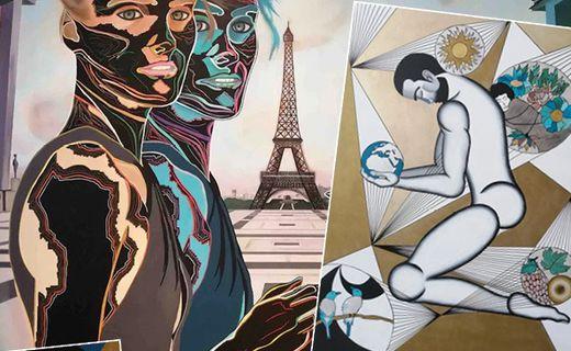 Human Race - Les tableaux de Caroline David