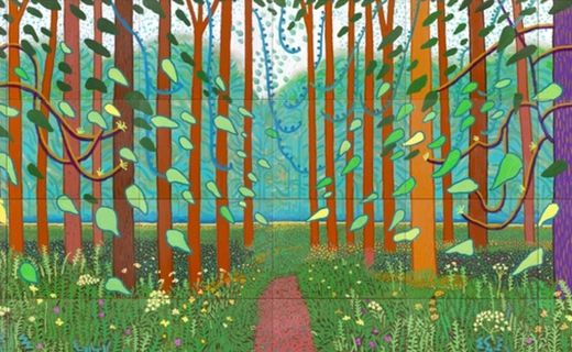 Inspired by David Hockney