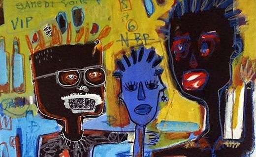 Inspired by Basquiat