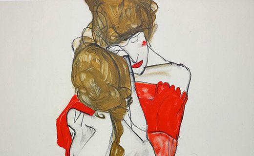 Inspiré par Schiele