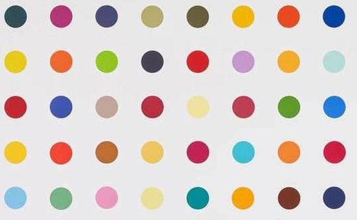 Inspired by Damien Hirst
