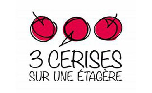 Cerises drechslersatz 3 pièces Nº 1635 Cerise