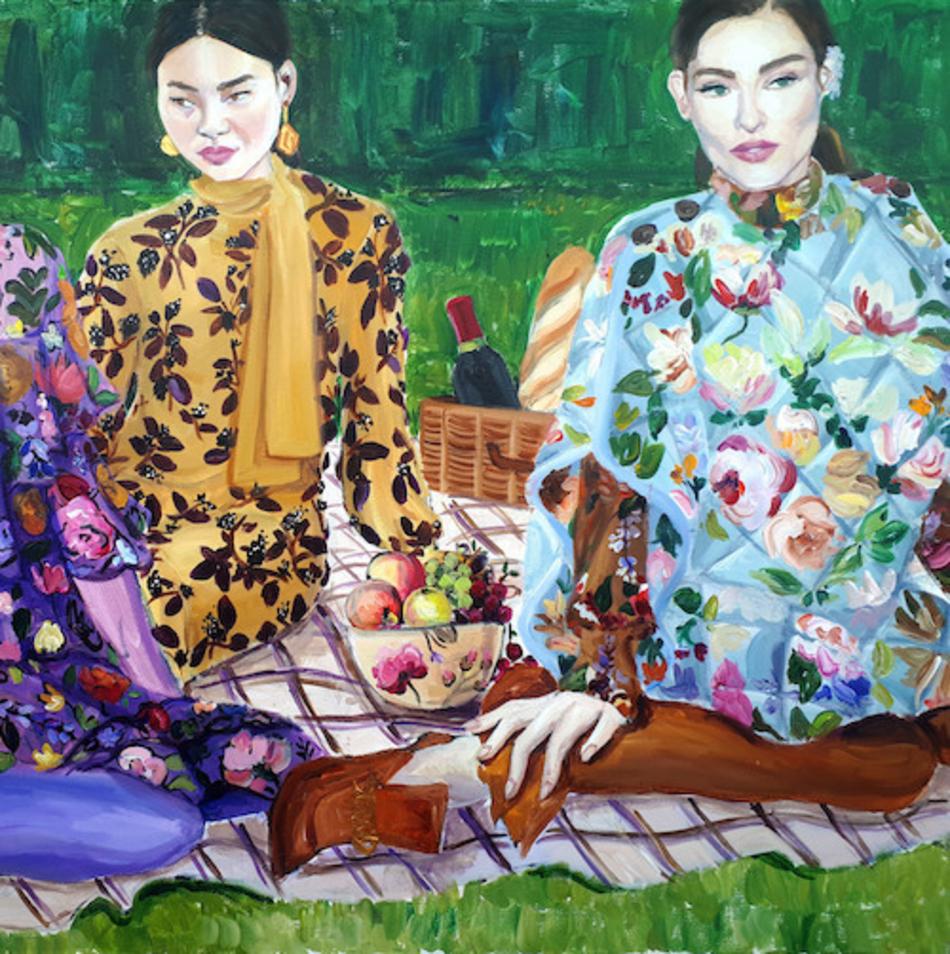 Meeting with the artist Laura Gulshani - illustration 1